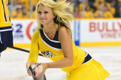 how to become a nashville predators ice girl
