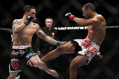 Trainer: Jose Aldo's leg kicks will be a 'non-issue' against 'faster' Anthony Pettis