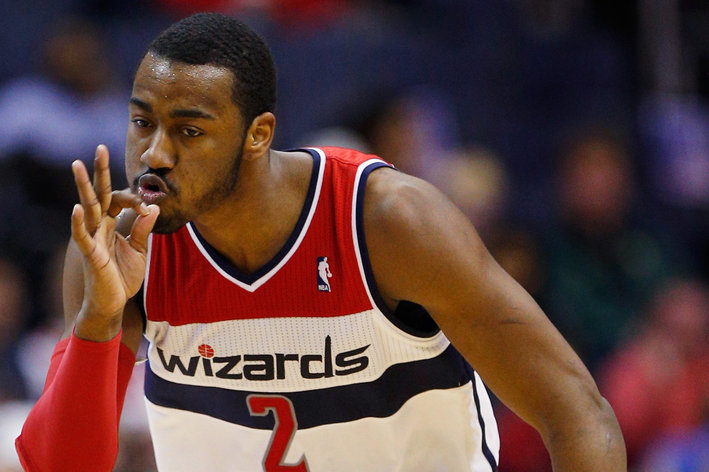John Wall smoking threes