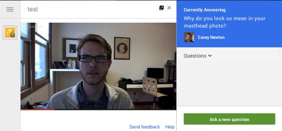 hangouts google live