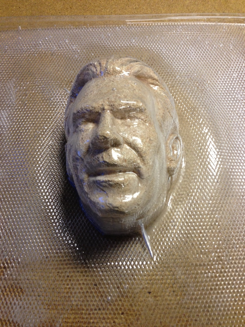 The Process Making A Jell O Mold Of Nick Saban S Face