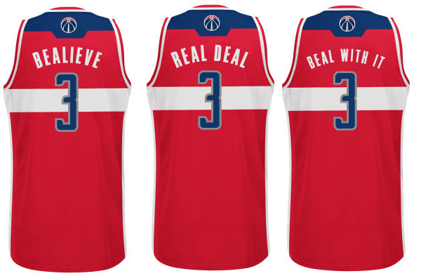 ea95b9fff68 Imagining NBA nickname jerseys for the Wizards - Bullets Forever