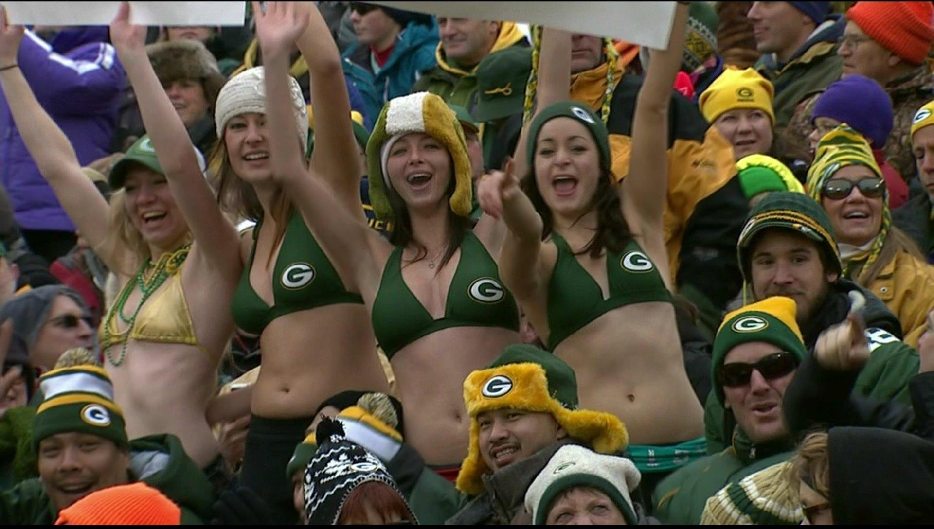 Green bay packer fan hookup site