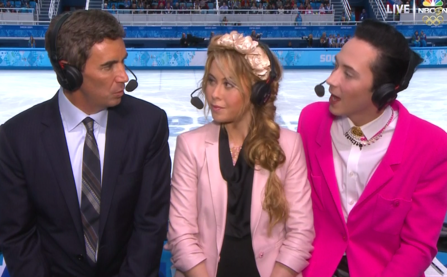 The Johnny Weir Olympic Outfit Tracker Sbnation Com