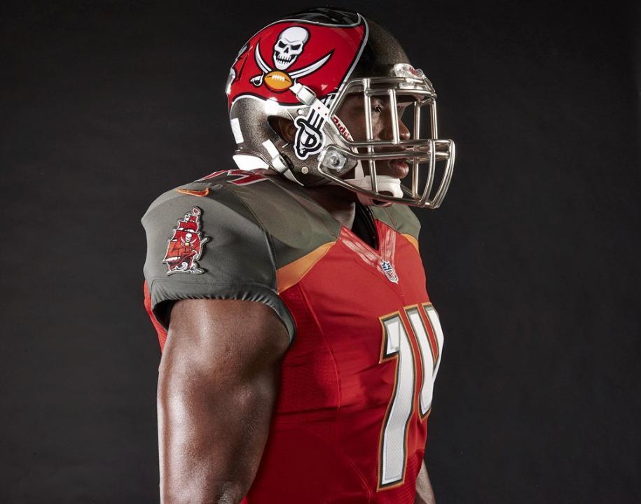 Cool Nfl Jerseys: 2014 NFL Uniform Changes: Bucs Unveil Home Jersey