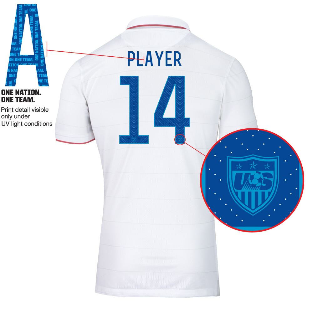The 2014 United States World Cup home jersey is... lacking identity ... 6f01975ff
