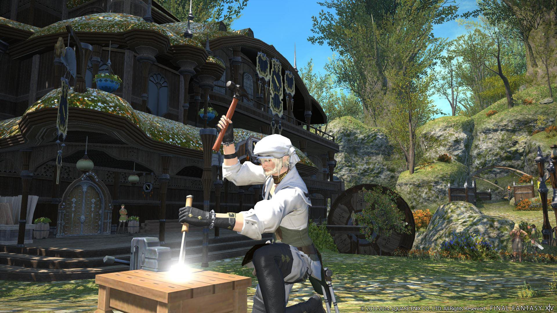 final fantasy 14 how to get containers