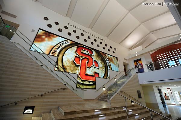 John McKay Center Opens, And USC Football Can Finally ... Usc Football Team 2013