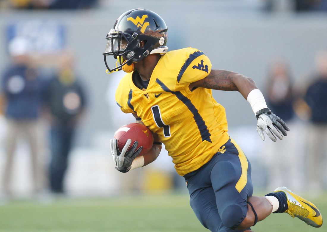 4a9b55113 The Many Combinations Of WVU Football Uniforms - The Smoking Musket