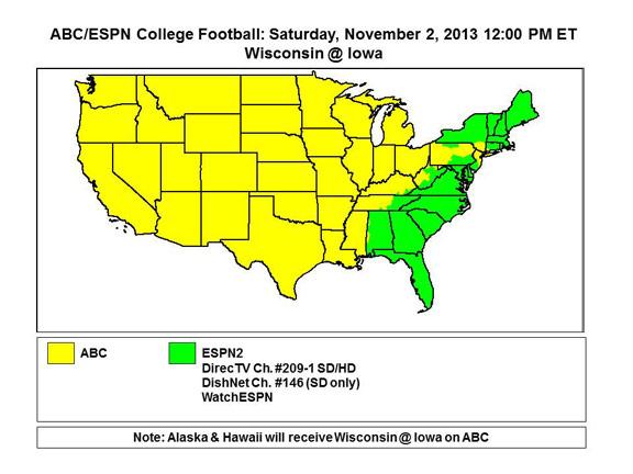 College Football Tv Schedule Week 10 Complete List Of