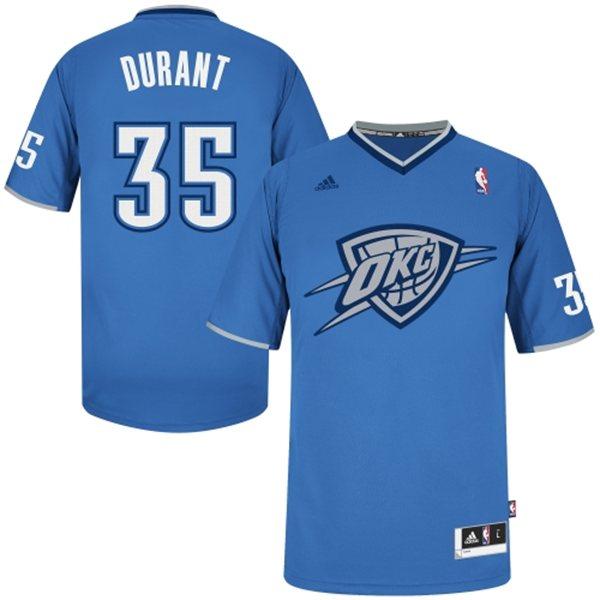 1b316d001 NBA Christmas Jerseys for 2013  Oklahoma City Thunder s Kevin Durant ...