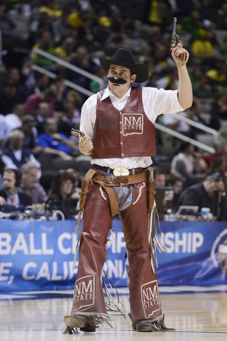 Meet The New Mexico State Aggies Who Have A Legitimate Giant