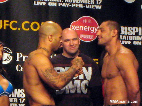 UFC 78 LIVE weigh-in results -...