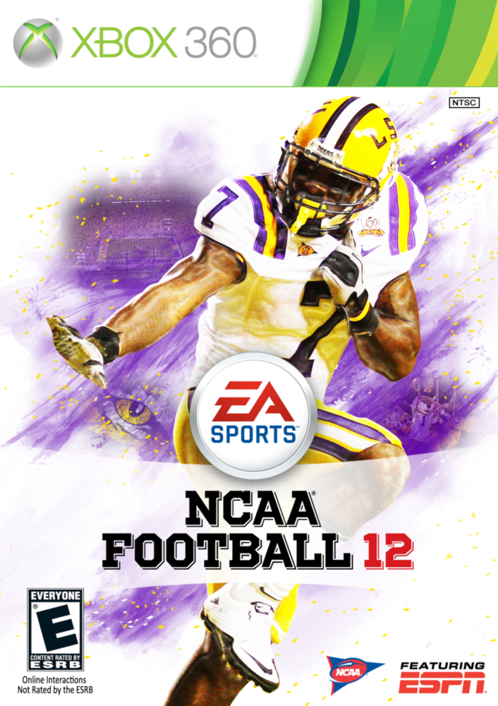 NCAA 12 drops TONIGHT, get your LSU Custom Cover - And The