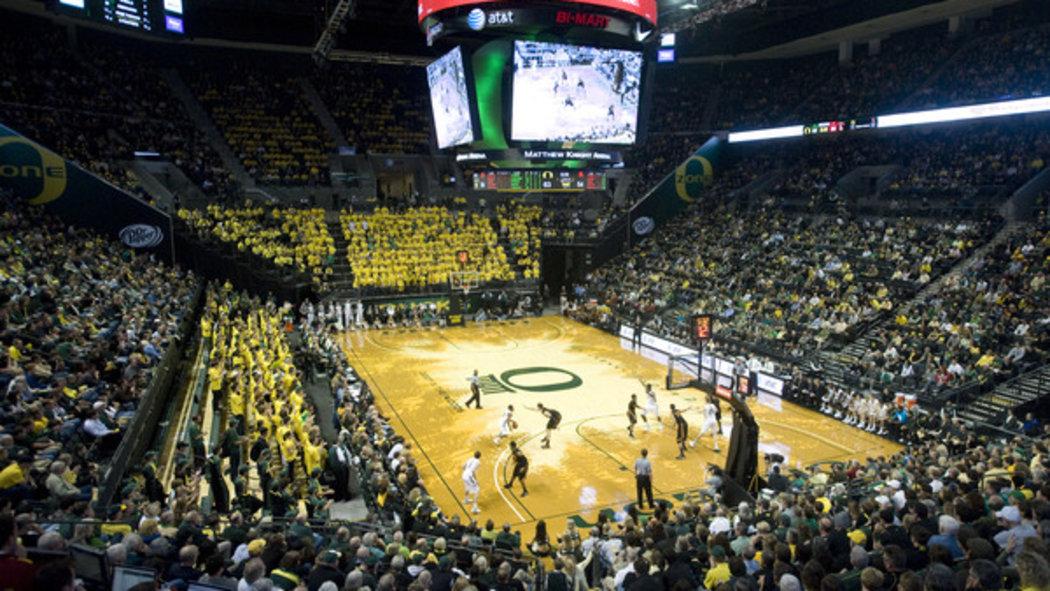 Have you seen Oregon's basketball court? - SBNation.com